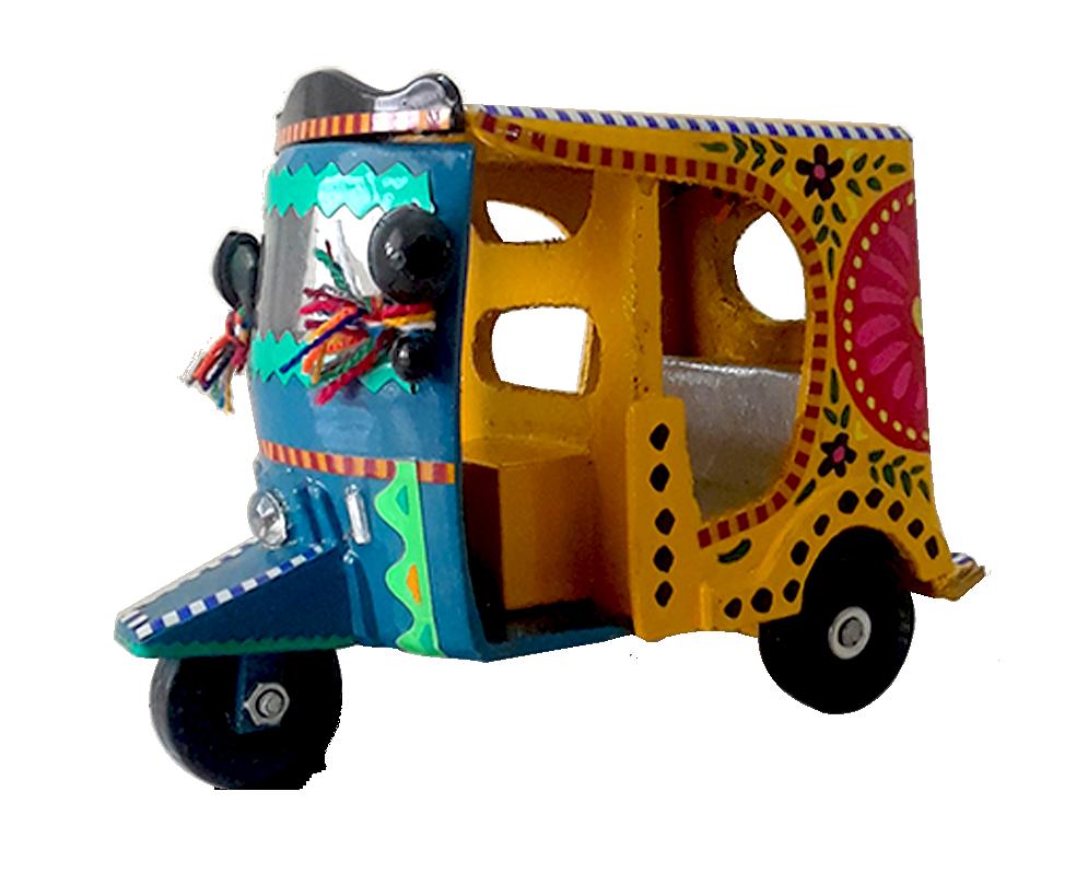 Handmade Art Rickshaw